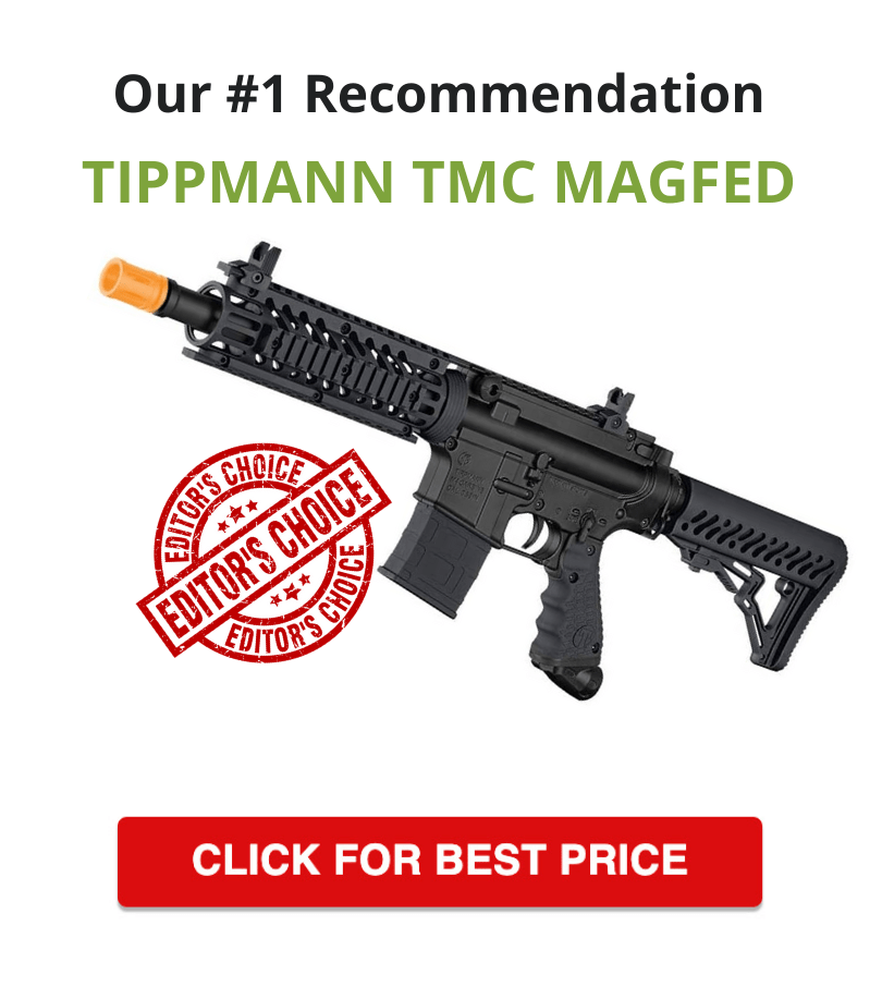 Tippmann TMC MAGFED Paintball Marker - #1 recommendation