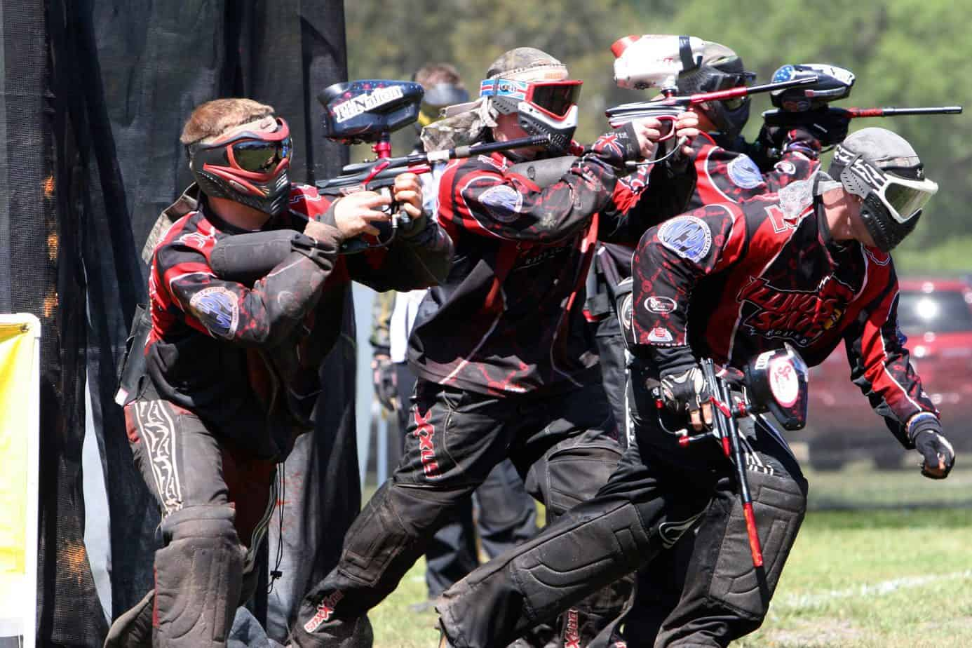 a group of paintball players - featured image