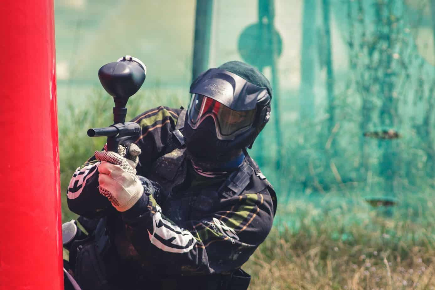 accurate paintball gun shooter