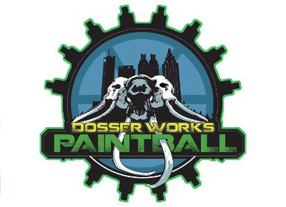 dosser works paintball logo