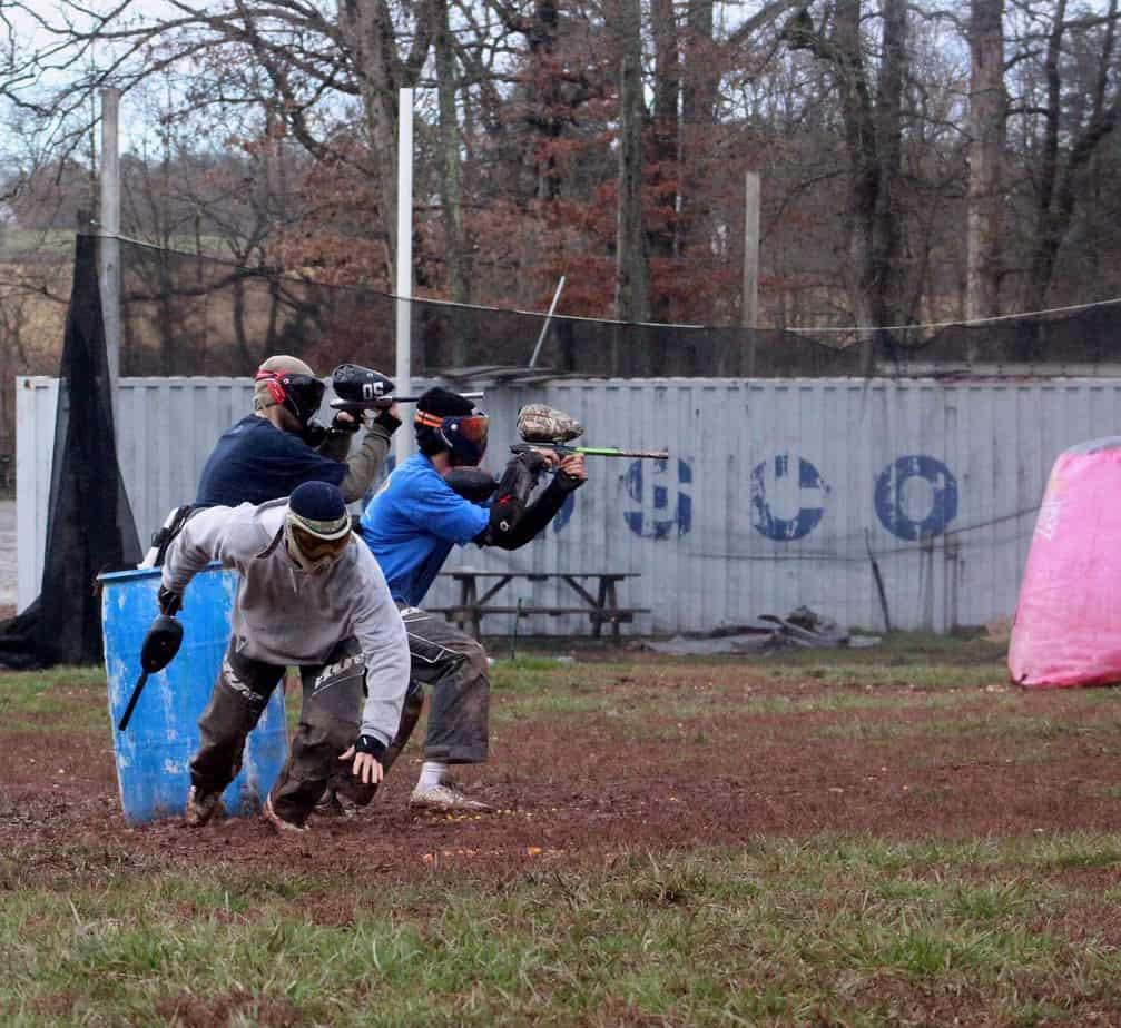 paintballers in action - featured image